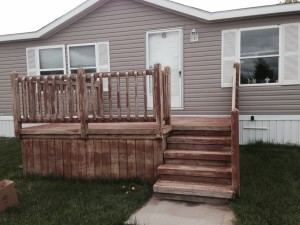 Clarkston deck restore- before