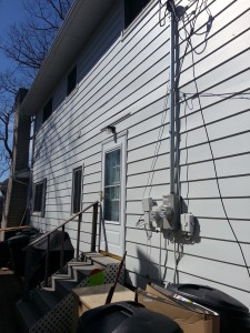 Lake Orion Siding Job before 2