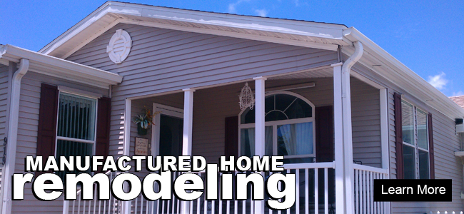Mobile home additions quotes for Remodeling a modular home
