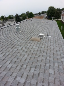 Washington Twp MI maufactured home shingled roof 2