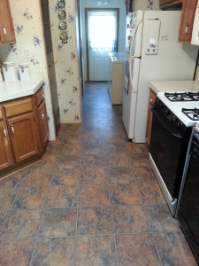 clinton twp mi water damaged floor repair & insurance claim 2